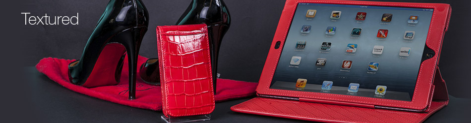 Croc Textured Leather Phone Cases | Cassabo